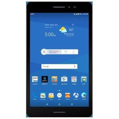 "ZTE TREK 2 HD K88 AT&T Unlocked Tablet GSM Wi-Fi - CELLULAR 16GB 8"" Tablet - $65"