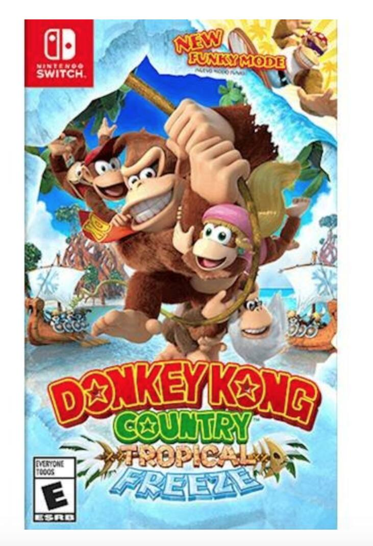 Donkey Kong Country - $41.99, Snipperclips - $10 Nintendo Switch Digital (price match GameStop)