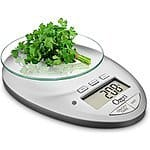 Ozeri Pro II Digital Kitchen Scale/Timer (12lbs Capacity)  $11.40