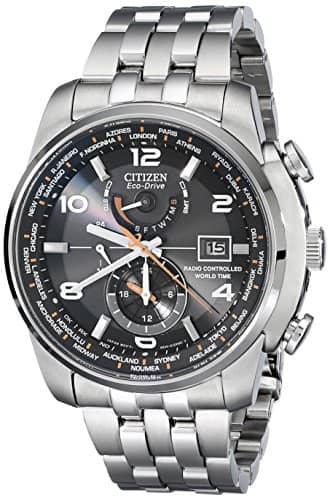 Citizen Men's AT9010-52E World Time A-T Stainless Steel Eco-Drive Watch: Amazon: $289.99+tax