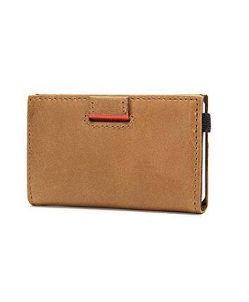 Men's slim full grain leather wallet  $9.99 On Sale at Amazon