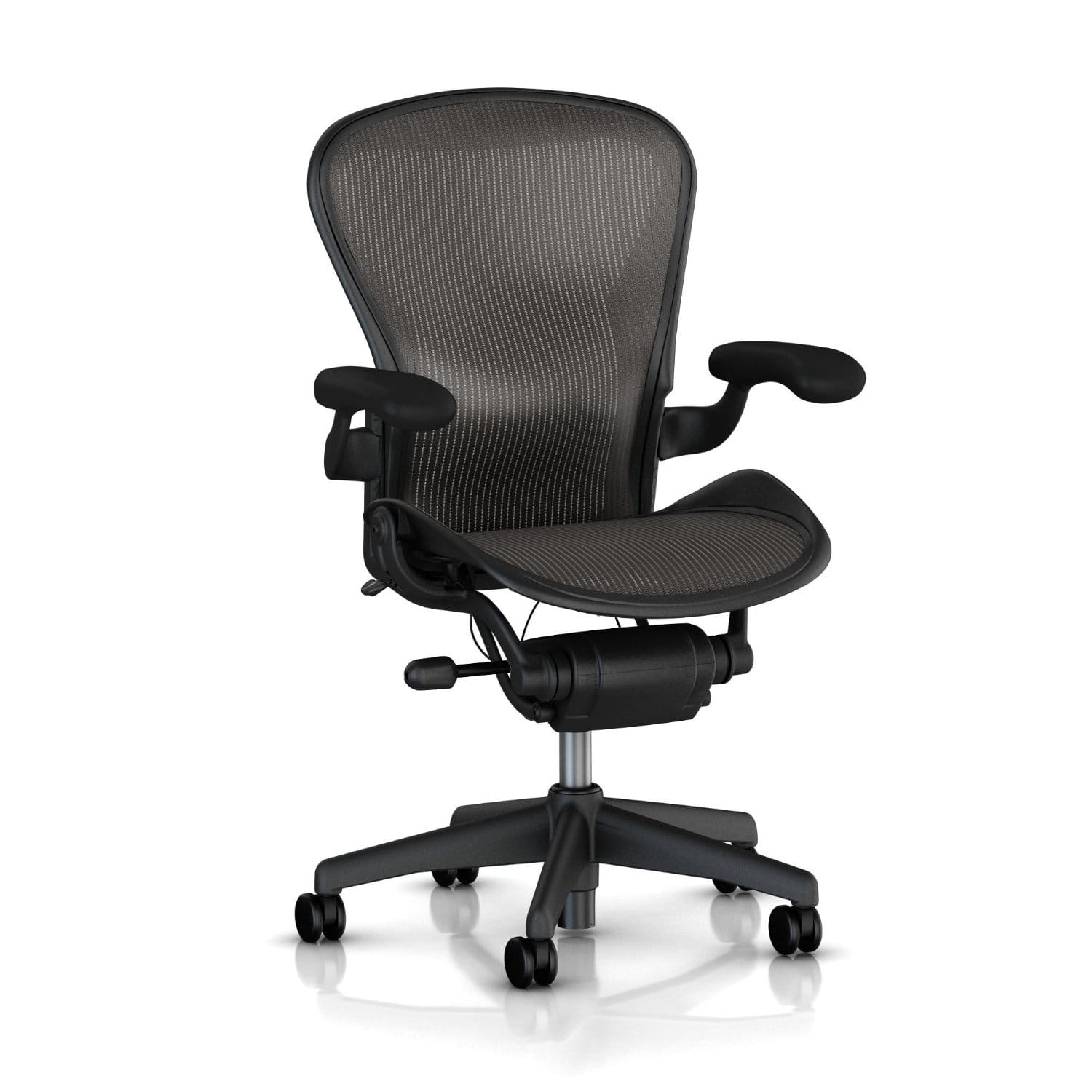 Herman Miller Aeron Chair - Highly Adjustable - Certified PreOwned from OfficeDesignsOutlet for $459.00 AC + Free Standard Shipping