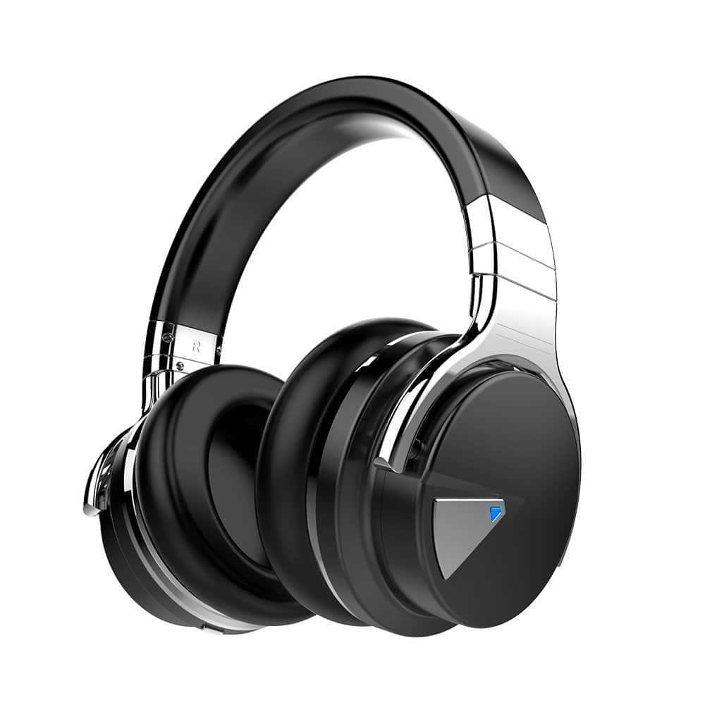 Active Noise Cancelling Bluetooth Headphones w/ Mic and Volume Control $45.50