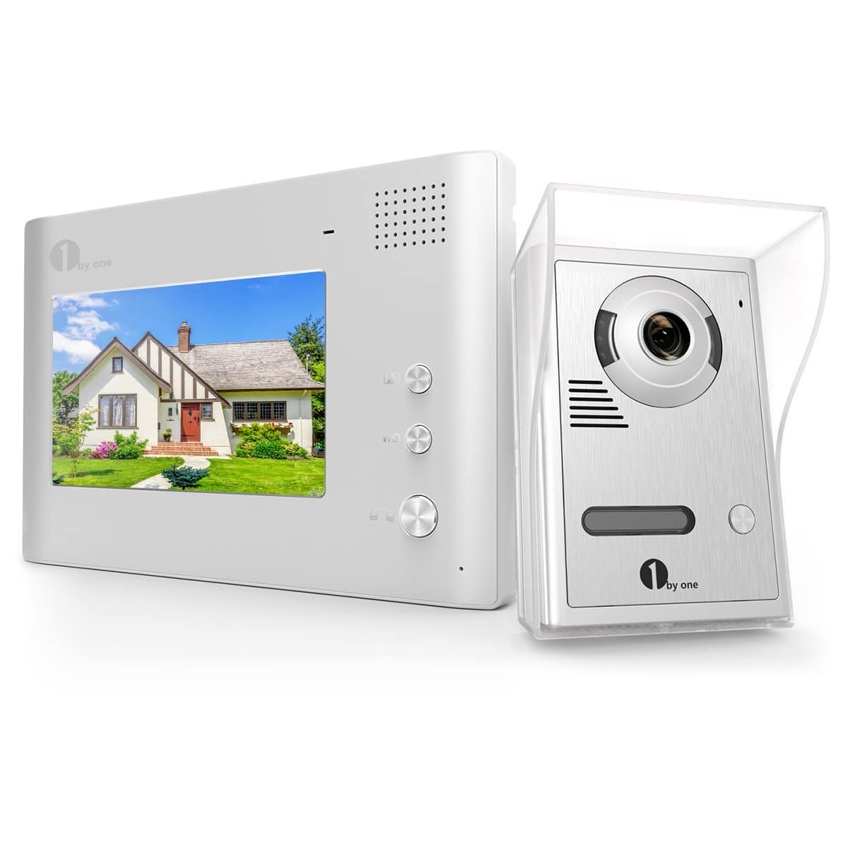 LCD Wired Video Intercom Doorbell for Home Security