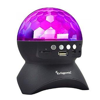 Stage Lights, Rotating Magic Effect Disco Ball Light With Wireless Bluetooth Speaker - $8.89 + FSSS