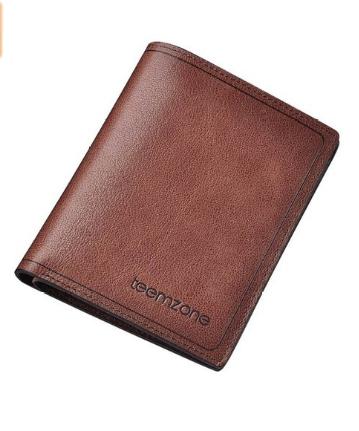 Teemzone Men's Top Genuine Leather Bifold Wallet - $4 + FSSS