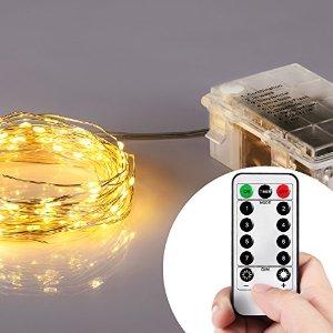 132 Micro LED String Lights (32 Feet, Warm White) $11.50 + FSSS
