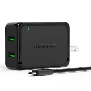 Tronsmart Quick Charge 2.0 4.8A Dual USB Wall Charger $8.50