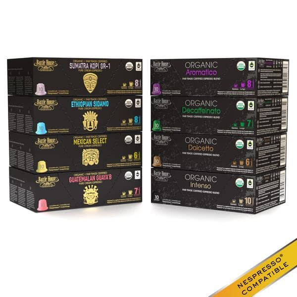 Barrie House 25% Off Sale: Nespresso / Espresso Capsules Variety Pack (160 Count) $49.23