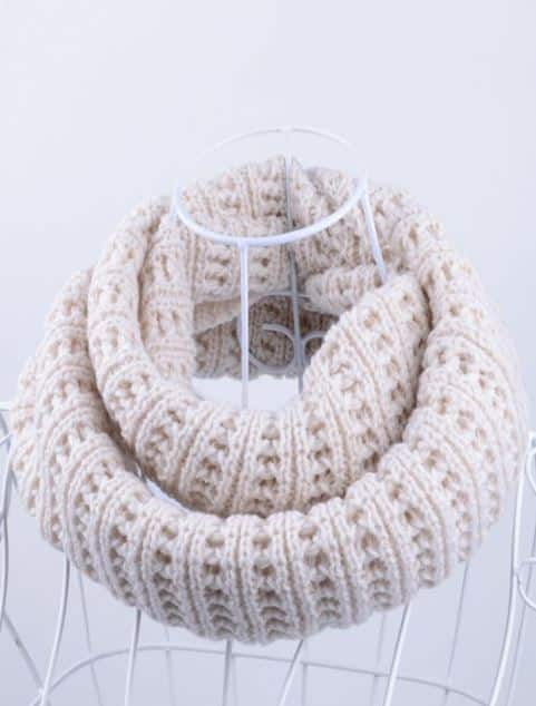 Zaful: Soft Simple Color Knitted Infinity Scarf (Various Colors) $1.99