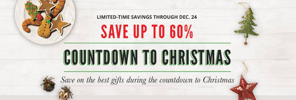 Cabela's: Save up to 60% at Cabela's Countdown to Christmas