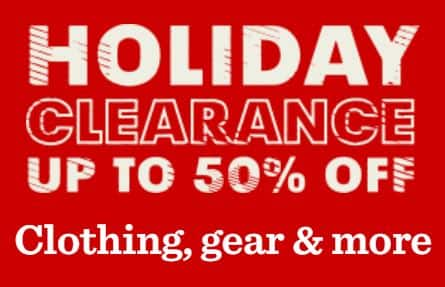 REI: Save Up to 50% Off Holiday Clearance: Clothing, Gear & More