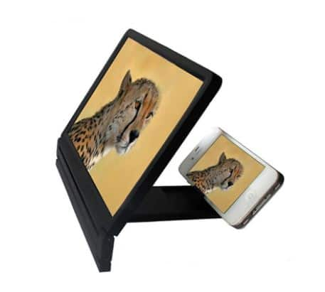 Gamiss: Phone Screen Magnifier Stand $3.49 $3.28