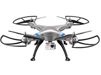Amazon: Costzon Quadcopter, Syma X8HG 2.4Ghz 4CH 6-Axis WIFI Gyro RC Drone $20 + Free Prime Shipping