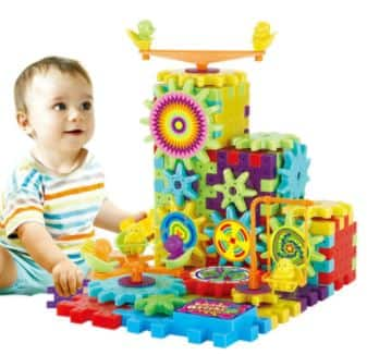 Gamiss: 81 Piece 3D Gear Puzzle Building Kit Toy $6.99