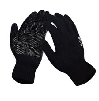 Gamiss: Touch Screen Outdoor Gloves - Black $2.50