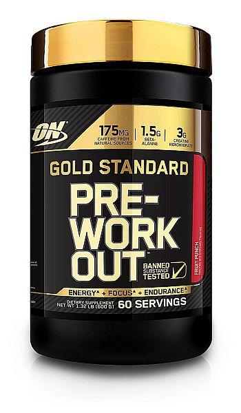 Amazon: 60 Serving Optimum Nutrition Gold Standard Pre-Workout, Fruit Punch $29.99
