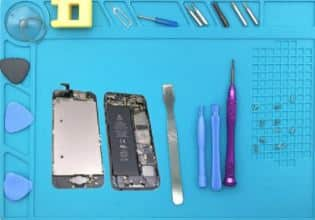 Gamiss: Heat Resistant Silicone Phone Repair Tool Pad $4.99
