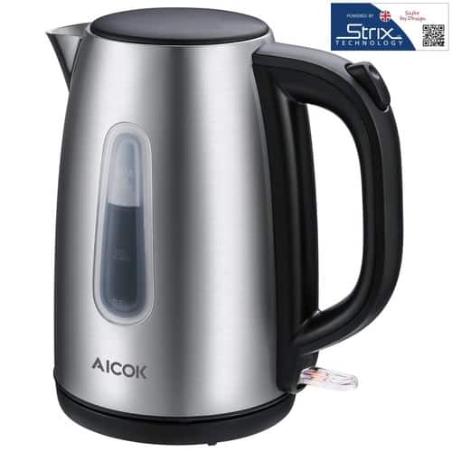1.7 Liter Stainless Steel Electric Kettle, 1500W,  $19