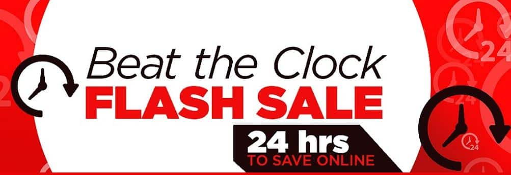 Sears: Beat the Clock Sale! Shop Deals from Top-Selling Categories