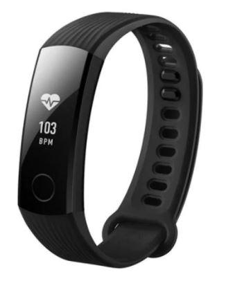 Rosegal: HUAWEI Band 3 Smartband Heart Rate Monitor Pedometer NFC - Black $28.19