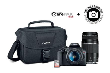 Canon: EOS Rebel T7 Double Zoom Lens Kit $549.99 + FS