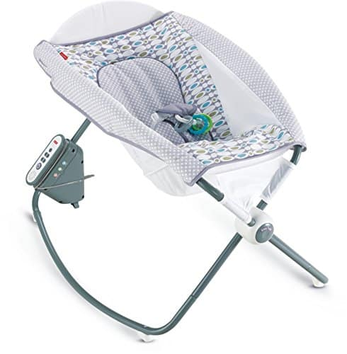 Fisher-Price Auto Rock 'n Play Sleeper, Aqua Stone - $41.59 +tax - lowest ever per CCC