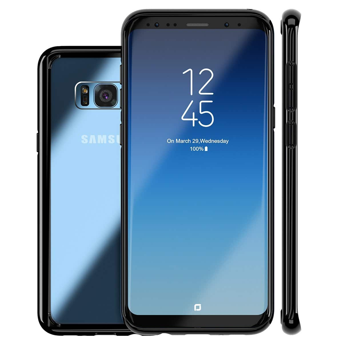 Samsung Galaxy S8+ TPU Protect Cover Case $3.90 AC, Apple iPhone X Cases $2.90 / $3.90 / $4.94 AC