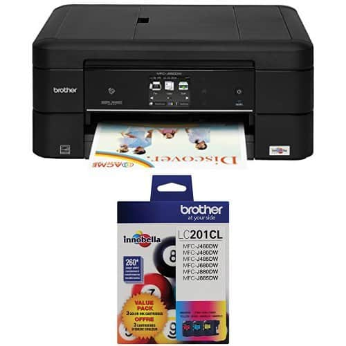 Brother WorkSmart MFC-J880DW Compact All-in-One Inkjet Printer from $74.99 @Amazon - Deal Of The Day