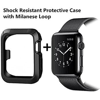 BRG Apple Watch Case with Band for $6.99 + Free Shipping with Amazon Prime