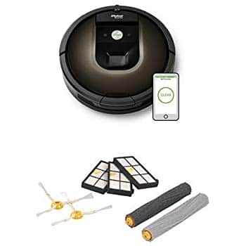 Robot Roomba 980 Robotic Vacuum Cleaner with Replenishment Kit for only $732.88 at Amazon +