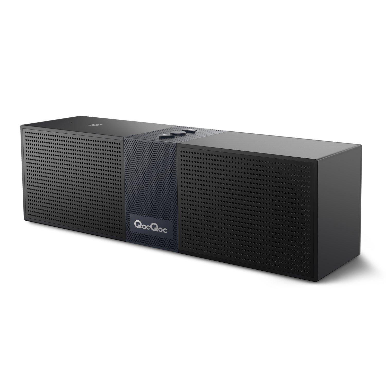 QacQoc Bluetooth Portable Speaker for $14.99