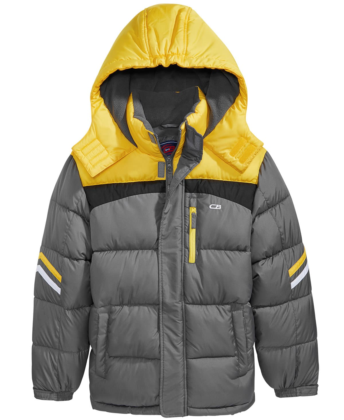 CB Sports Hooded Puffer Coats, Big & Little Boys $15.99 + Free  Store Pickup
