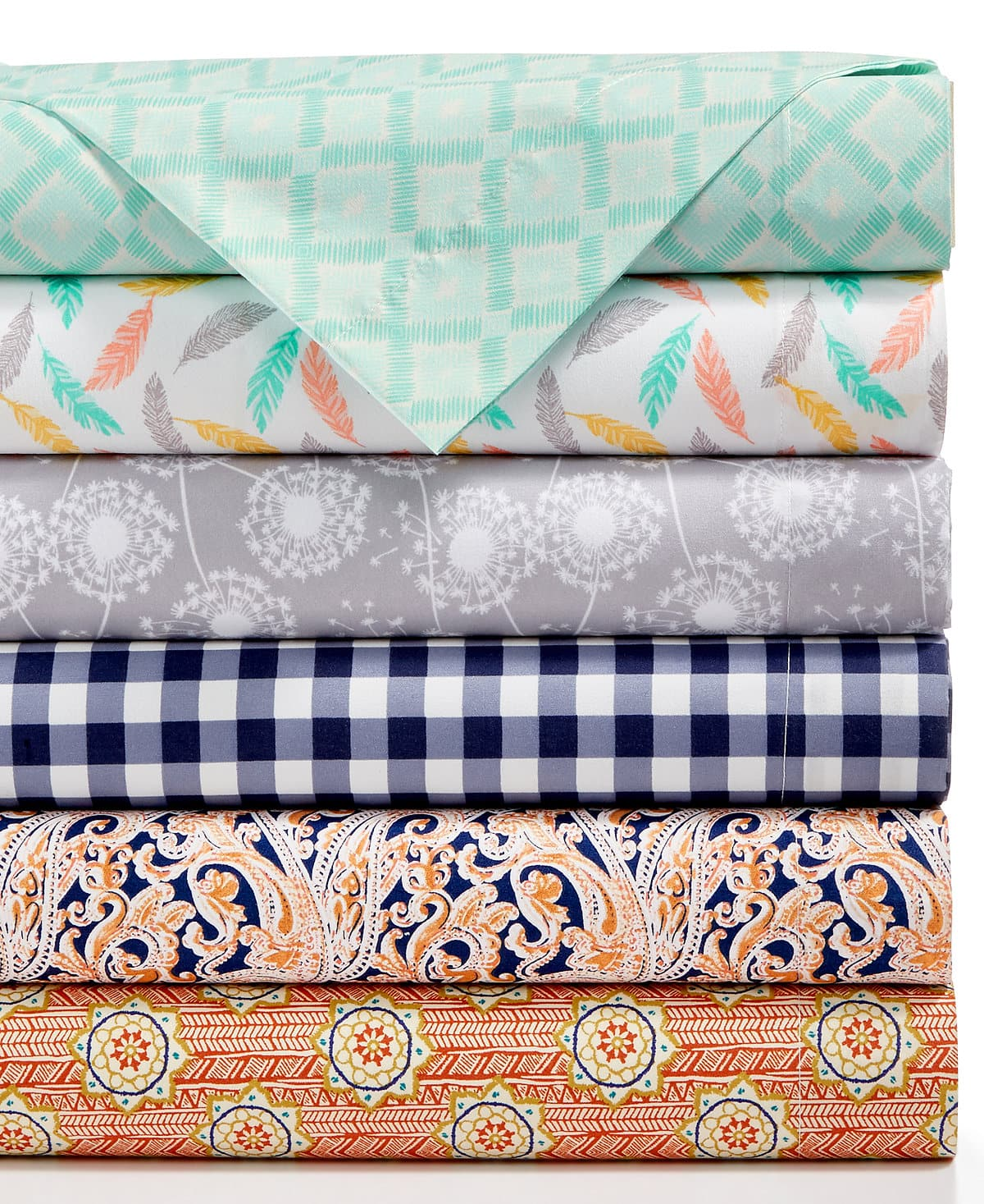 Jessica Sanders Printed/Plain Microfiber Sheet Sets: King/Queen/Full $15.99, Twin XL $9.99, Twin $5.99 + Free Store Pickup