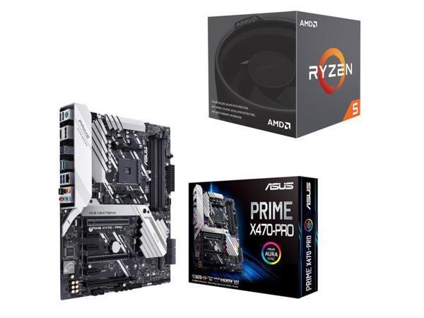 AMD Ryzen 5 2600X 3 6Ghz 6-Core AM4 Processor + ASUS Prime X470-Pro