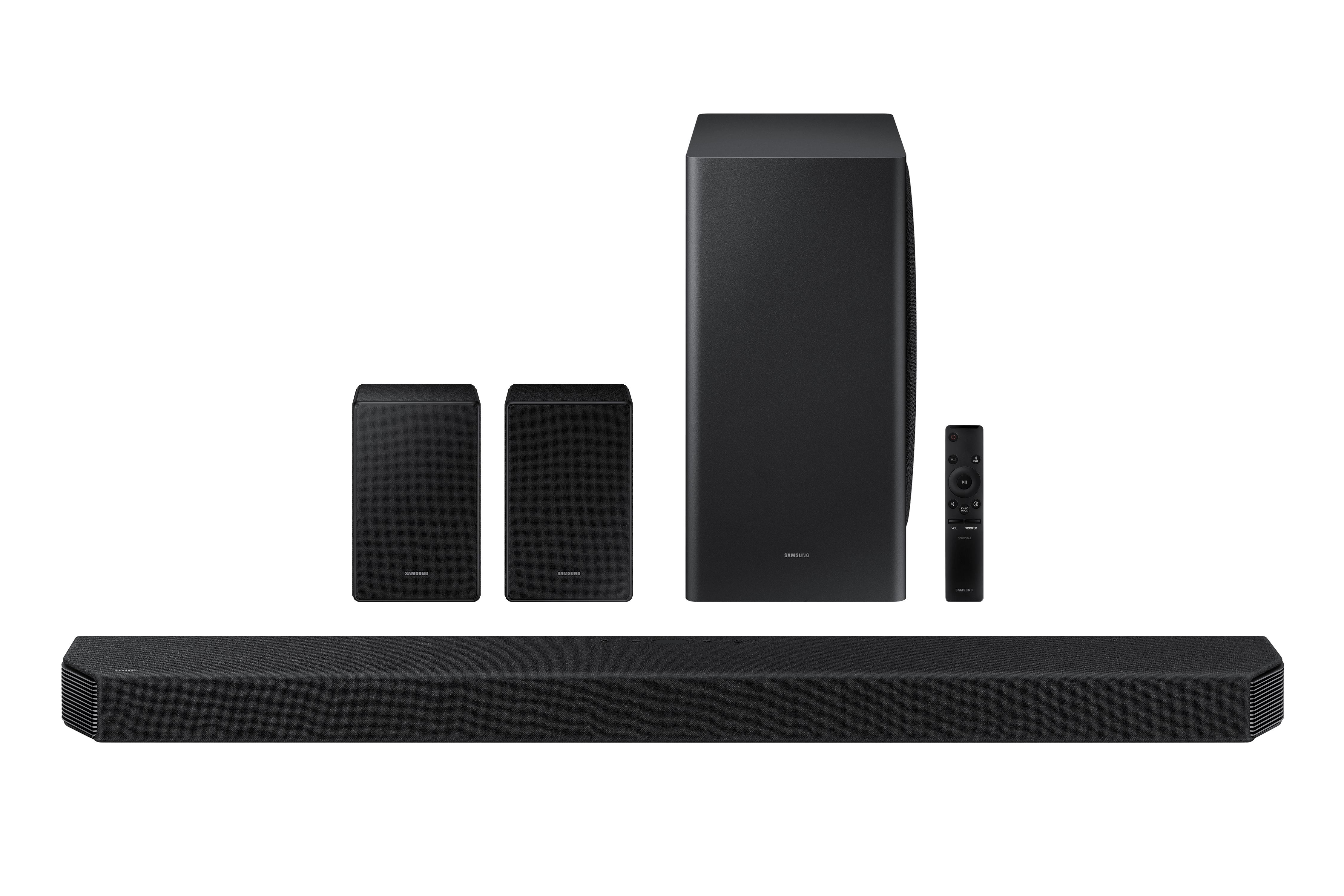 HW-Q950A 11.1.4 Dolby Atmos Soundbar w/ Q-Symphony (2021)   Samsung US $1079.99