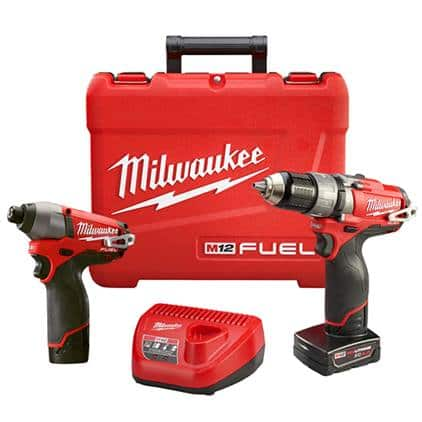 Milwaukee Hammer M12 Fuel Hammer Drill/Driver and Impact Driver $135 at Home Depot YMMV