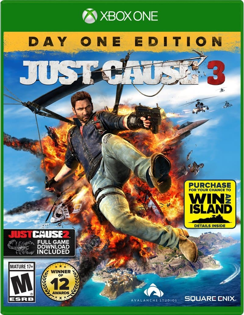 Just Cause 3 - Day One Edition PS4, Xbox One - $49.99 or $39.99 GCU + Some other games that are $10-$20 off or more with GCU