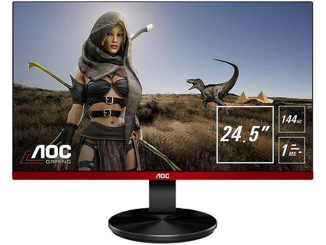 "Newegg Flash AOC G2590FX 24.5"" gaming monitor, 1ms, 144Hz, FreeSync, Free Shipping $219.99"