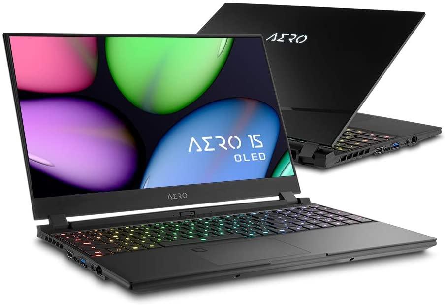 Gigabyte AERO 15 OLED gaming/work laptop - only $1499, OLED 4K, i7-9750H, GTX1660Ti,16GB, 512GB SSD, 94Wh batt