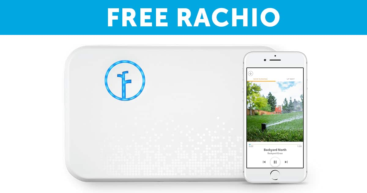 FREE Rachio 2nd Gen 16 Zone Smart Sprinkler Controller (SoCal only)