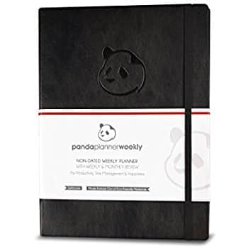 Panda Planner Pro - Best Daily Planner for Happiness & Productivity $27.97 @amazon Lightning Deal