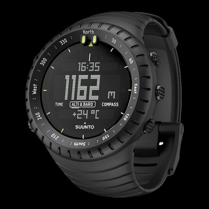 Suunto Core All Black Military Watch $155
