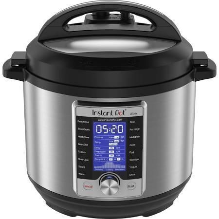 Instant Pot Ultra 10-in-1 6-qt. Programmable Pressure Cooker - $107.99 or $94.49 for Kohl's Cardholders + $30 Kohl's cash