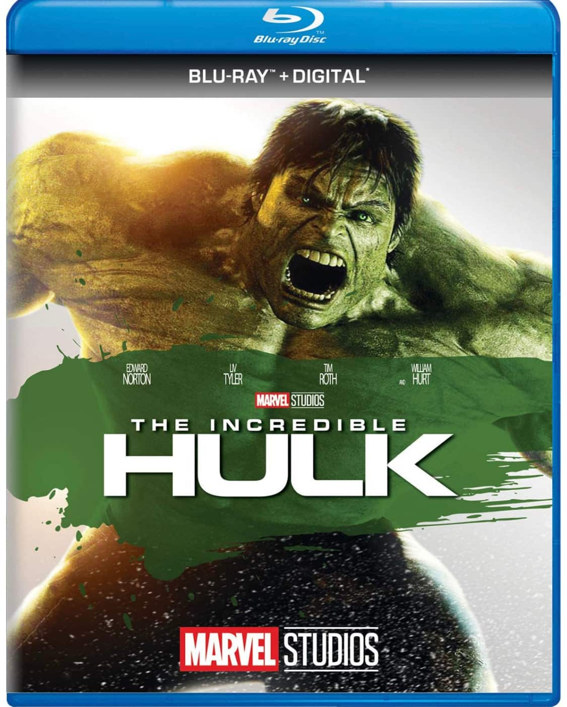 The Incredible Hulk Blu-ray + Digital Code - $5.99 & Prime FS