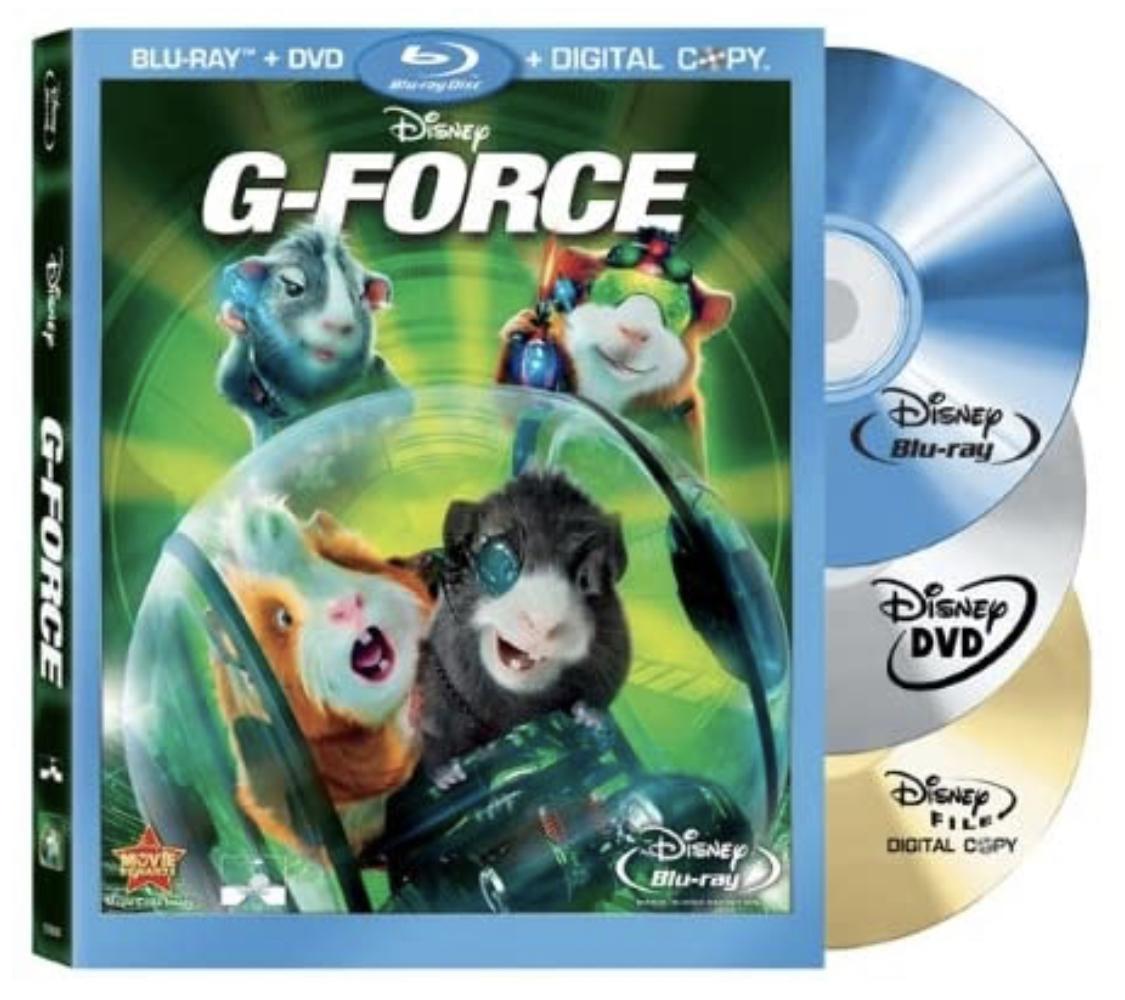 Disney's G-Force (Three-Disc DVD/Blu-ray Combo +Digital Copy) - $6.11 + Prime FS