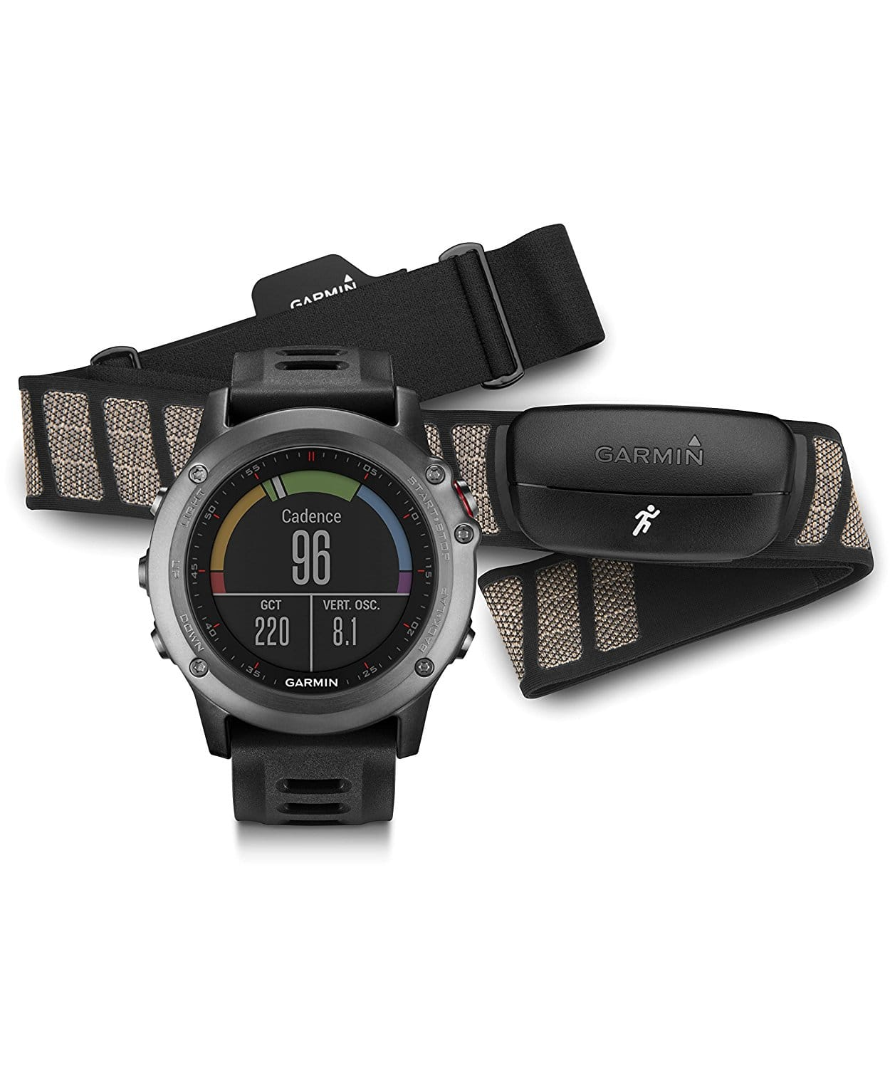 Garmin fenix 3, Gray bundle with Heart Rate Monitor for $349 @Amazon + FS