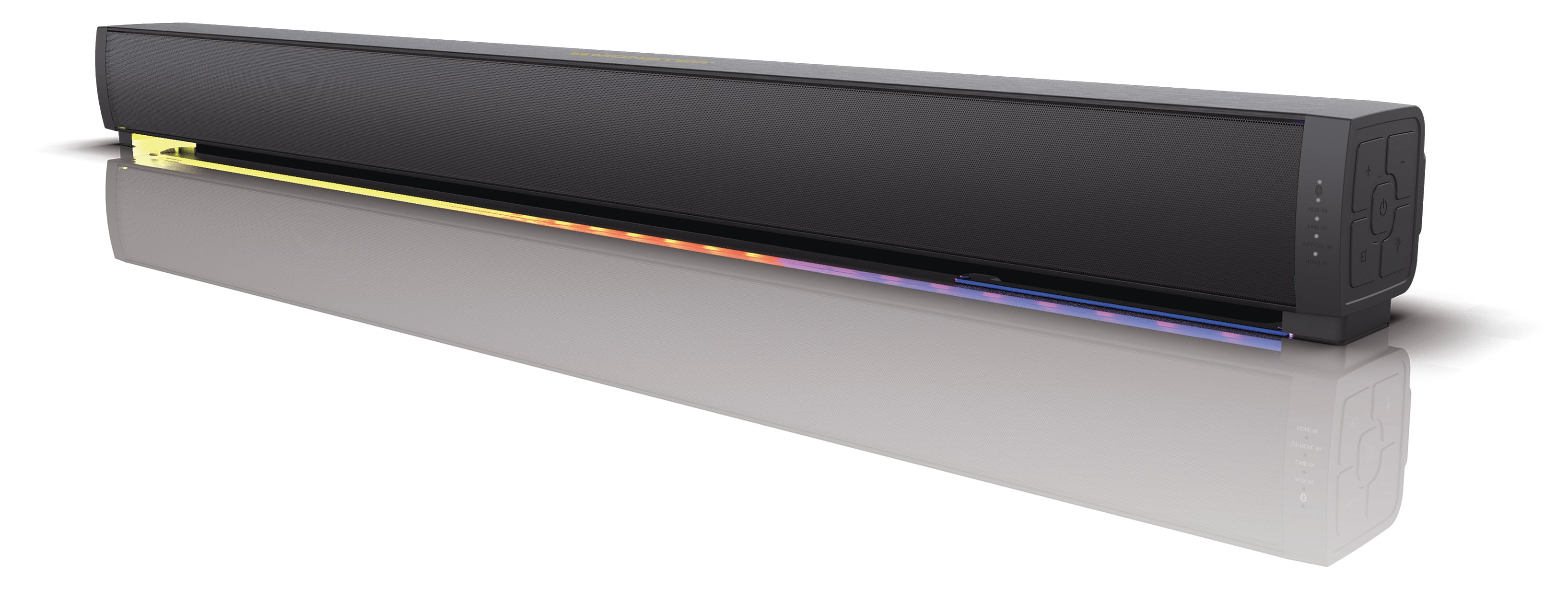 "Monster 37"" TV Soundbar, with Bluetooth/LED/Lights - Reg $129, Clearance price $19 - YMMV"