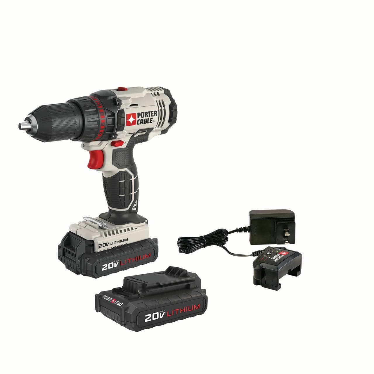 PORTER CABLE 20-Volt Max 1/2-Inch Lithium-Ion Compact Cordless Drill- $40 @ Walmart - YMMV