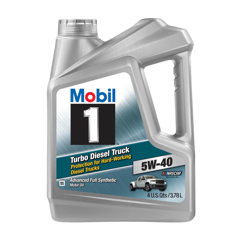 Mobil 1 Turbo Diesel Truck Full Synthetic Motor Oil 5W-40, 1 Gal, Reg $23, Clearance $5 (or $7 MM) @ Walmart - YMMV